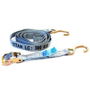 Tie Down - Cambuckle Titan Grey 300kg x 3.2m S/Hk