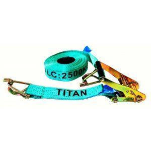 Tie Down - Ratchet Titan Green 2.5T x 12.5m
