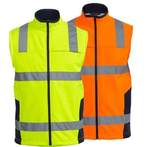 Bisley Soft Shell Vest with 3M Reflective Tape