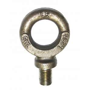 Collard Eye Bolt - Black Metric
