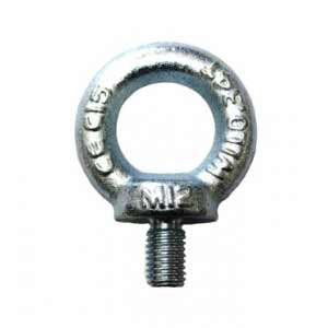 Collard Eye Bolt - Zinc Plated Metric