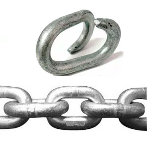 Galvanized Chain & Fittings