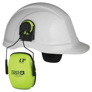 Howard Leight Hi Vis Helmet Earmuffs