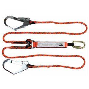 QSI Rope Lanyard Double Scaff Hooks