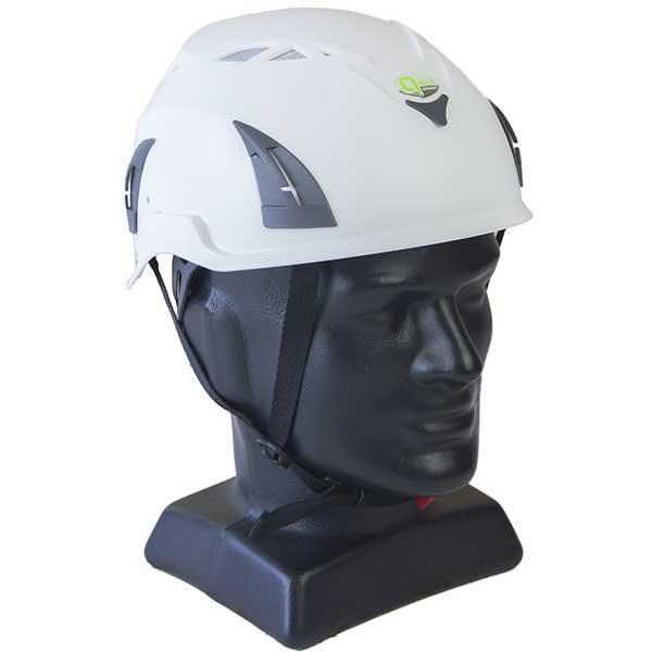 Q-Tech Helmet White