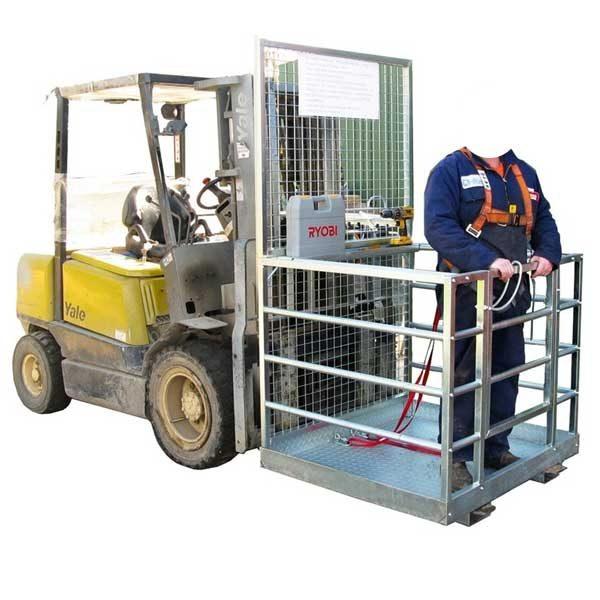 Forklift Man Cage