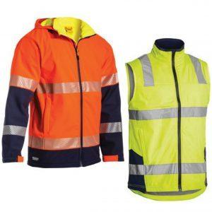 Soft Shell Vest & Jackets
