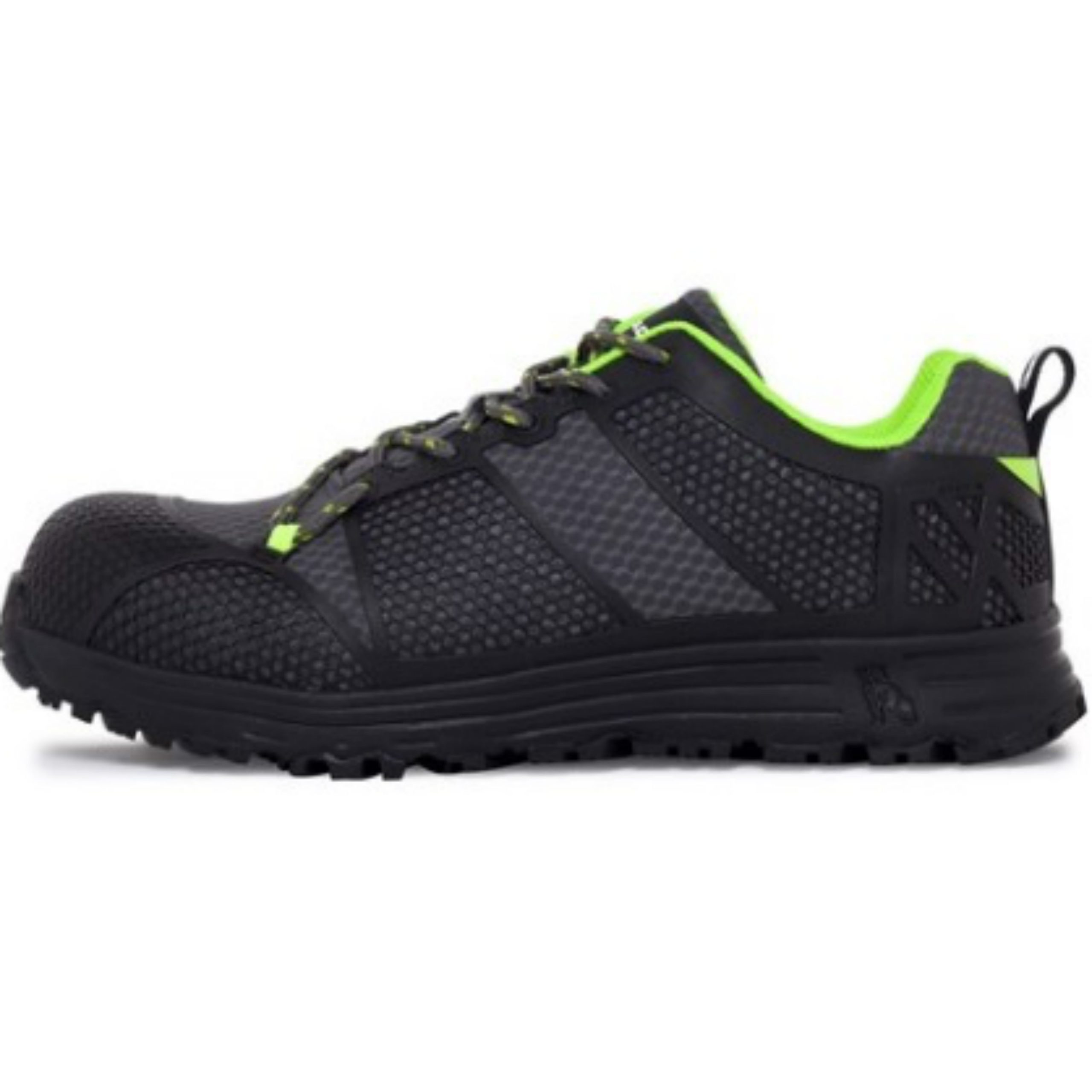Mack Pitch Lace Up Safety Shoes Handling Equipment Canterbury