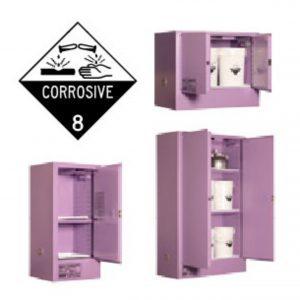 Corrosive Storage Cabinets - Metal
